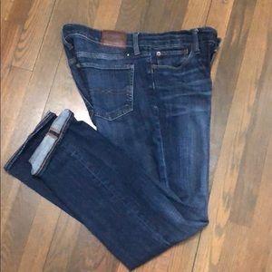 Lucky Brand women's straight leg jeans